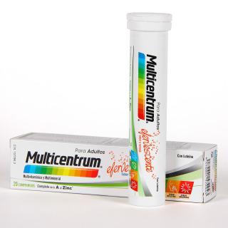Multicentrum 20 comprimidos efervescentes