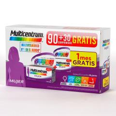 Multicentrum Mujer 90+30 comprimidos Pack Promo