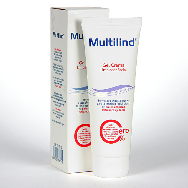 Multilind Limpiador Facial Gel Crema 125 ml