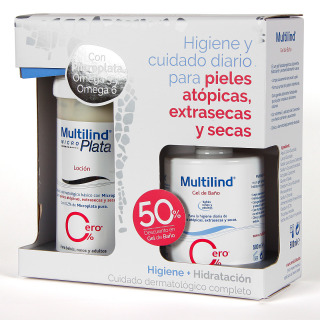 Multilind Loción 500 ml + Gel Baño 500 ml Pack Promo