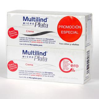 Multilind Micro Plata Crema 75 ml Pack Duplo