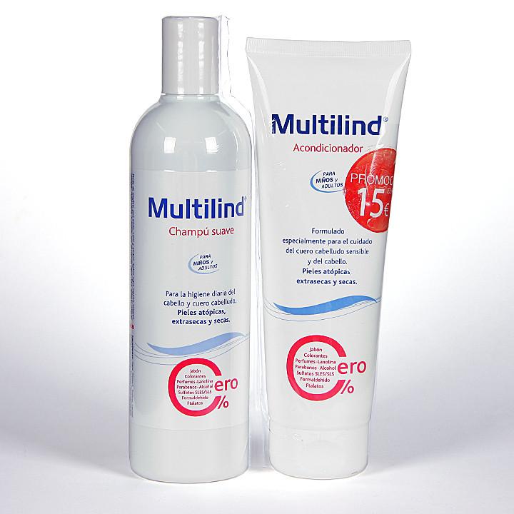 Multilind Pack Champú + Acondicionador