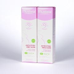 Mustela 9 Meses Antiestrías doble acción 150 +150 ml