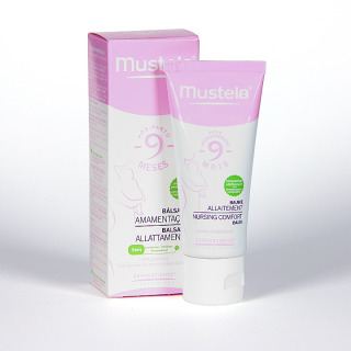 Mustela 9 Meses Bálsamo lactancia cuidado del pezón 30 ml