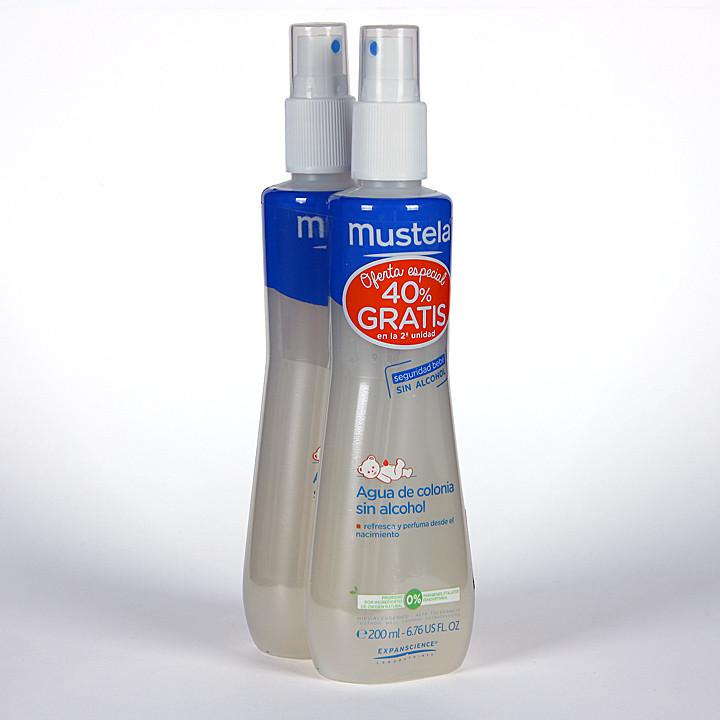 Mustela Agua de colonia Duplo ahorro 200 ml