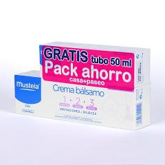 Mustela Crema bálsamo Pack ahorro 150 ml + 50 ml gratis