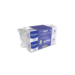 Mustela Crema Cambio de Pañal Duplo + Toallitas