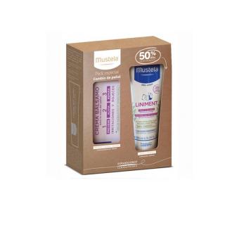 Mustela Crema Cambio de Pañal + Linimento Pack Promo