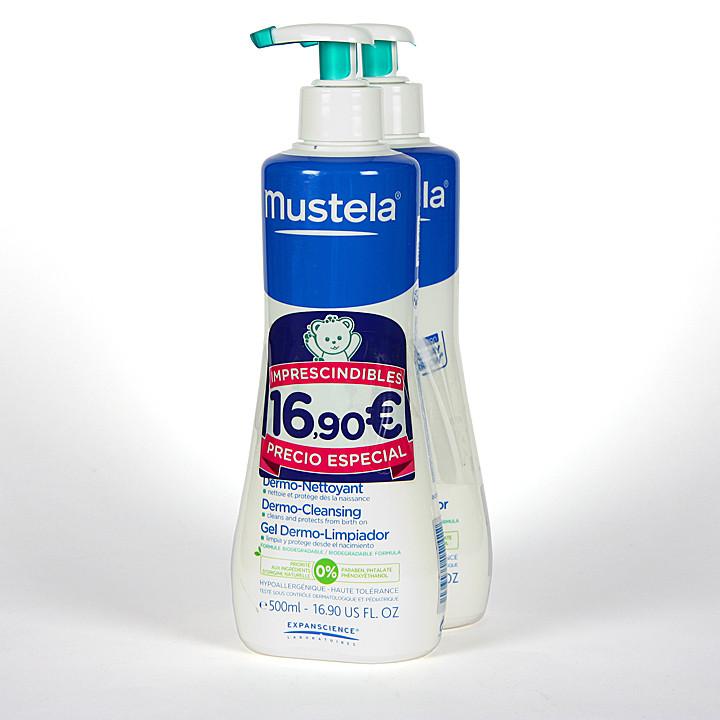 Mustela Gel Dermolimpiador Duplo ahorro 500 ml