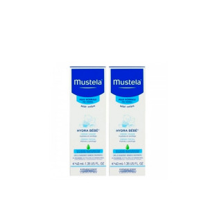 Mustela Hydra Bebé Crema Facial 40 ml Pack Duplo