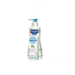Mustela Hydrabebé leche corporal Duplo 500 ml + Regalo Hydrabebé facial