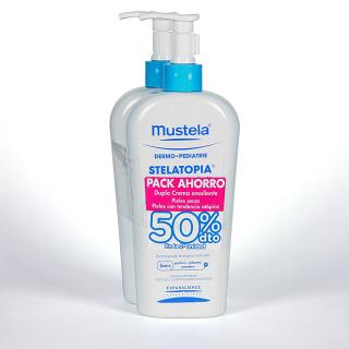 Mustela Stelatopía Duplo Crema Emoliente 400 ml