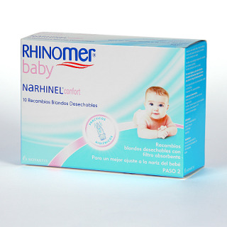 Narhinel Confort 10 recambios blandos desechables