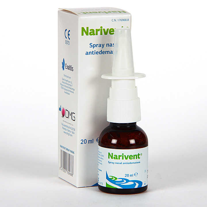 Narivent Spray Nasal Antiedematoso 20 ml