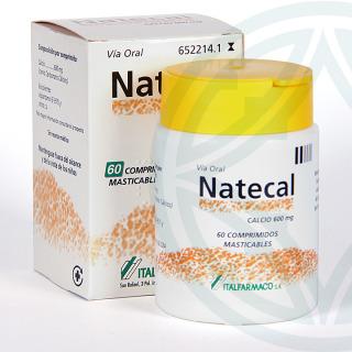 Natecal 60 comprimidos masticables