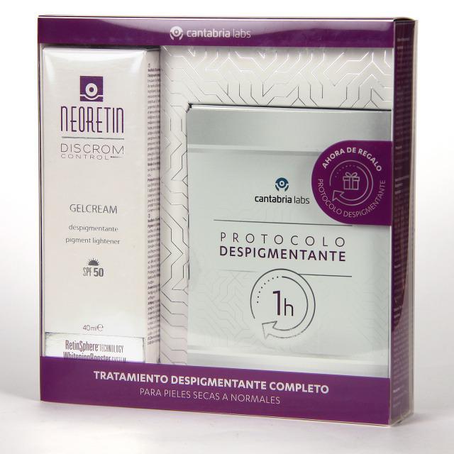 Neoretin Discrom Control Gelcrema SPF 50 40 ml + Protocolo Despigmentante Pack Regalo