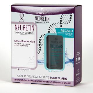 Neoretin Discrom Sérum Booster 30 ml + Endocare Agua Micelar 100 ml Regalo Pack