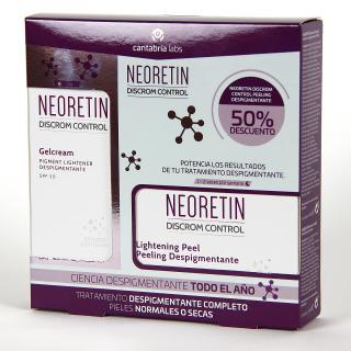 Neoretin Gel-Crema + Neoretin Peeling Despigmentante 50% Pack