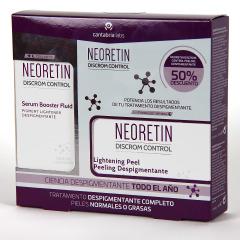 Neoretin Discrom Control Serum + Neoretin Peeling Despigmentante 50% Pack