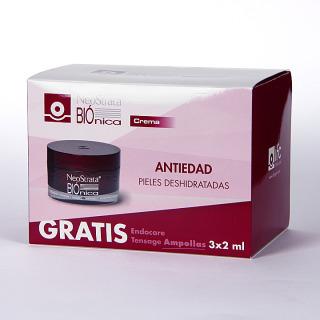 NeoStrata Biónica crema 50 ml Pack + 3 Endocare Tensage Ampollas Regalo