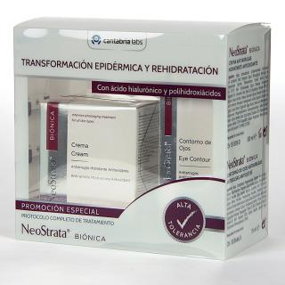 NeoStrata Biónica crema 50 ml + Contorno de ojos 15 ml pack promo