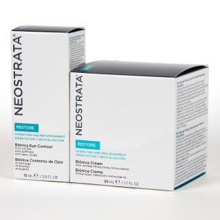 NeoStrata Restore Biónica crema 50 ml + Contorno de ojos 15 ml 50% Pack Promo
