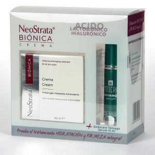 NeoStrata Biónica crema 50 ml + Endocare Tensage Serum 15 ml Gratis Pack