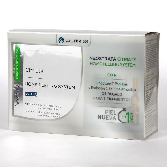 NeoStrata Targeted Citriate Home Peeling 4 Discos + Piel Nueva Pack