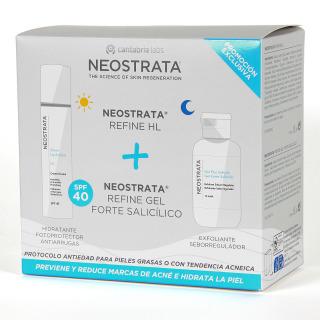 Neostrata Refine HL + Gel Forte Salicilico Pack 20% Descuento