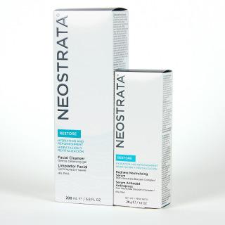 Neostrata Restore Serum Antiedad Antirojeces + Limpiador Facial 50% Pack Promo