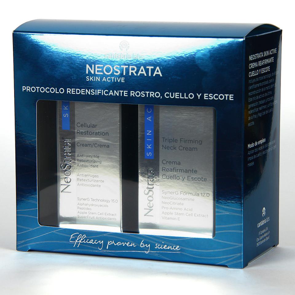 Neostrata Skin Active Cellular Crema 50 ml + Crema Cuello y escote 80 ml Pack