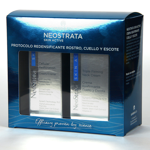 Neostrata Skin Active Cellular Crema 50 ml + Crema Cuello y escote 80 ml Pack