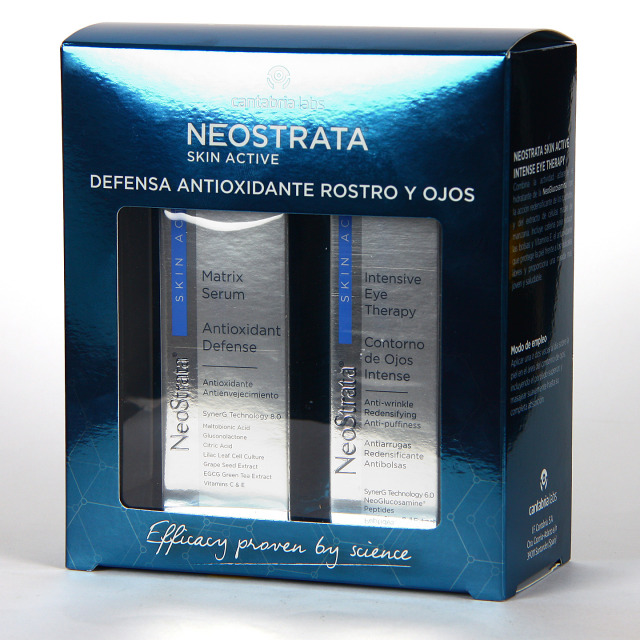 Neostrata Skin Active Matrix Serum 30 ml + Contorno de Ojos 30 ml Pack