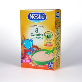 Nestle 8 Cereales con Frutas 600 g