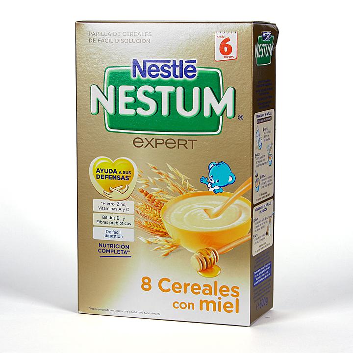 Nestle Nestum Expert 8 Cereales con Miel y Bífidus 500 g