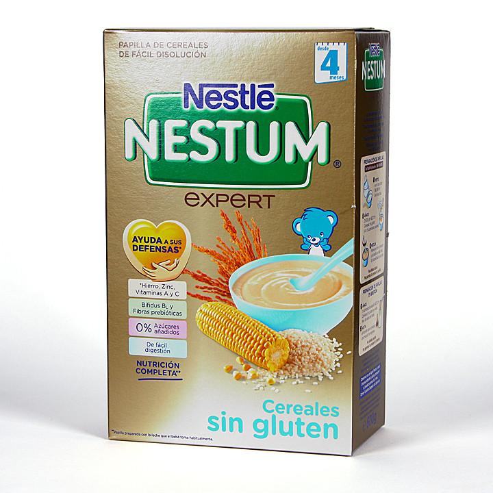 Nestle Nestum Expert Cereales Sin Gluten con Bífidus 500 g