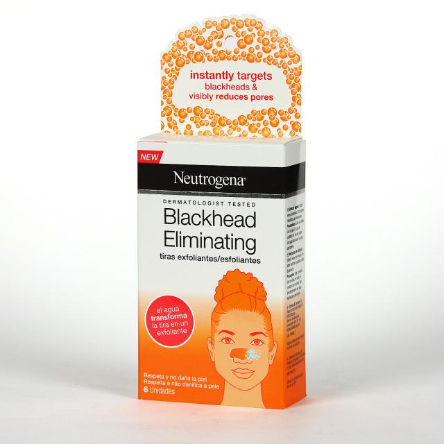 Neutrogena Blackhead Tiras Exfoliantes Faciales 6 unidades