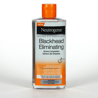 Neutrogena Blackhead Tónico Limpiador Facial 200 ml