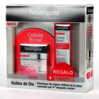 Neutrogena Cellular Boost Crema de Día Antiedad SPF 20 50 ml + Contorno de Ojos de Regalo Pack