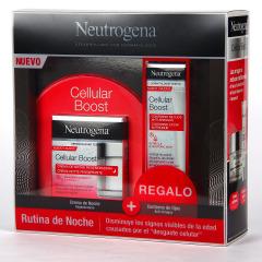 Neutrogena Cellular Boost Crema de Noche Antiedad Regeneradora 50 ml + Contorno de Ojos de Regalo Pack