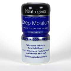 Neutrogena Confort Balm hidratante corporal 300 + 300 ml gratis