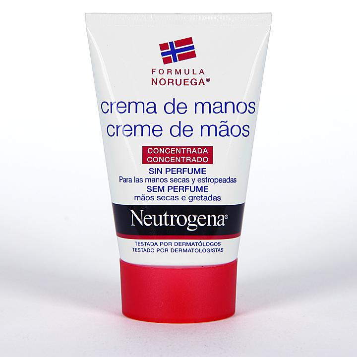 Neutrogena Crema de Manos Concentrada sin perfume 50 ml