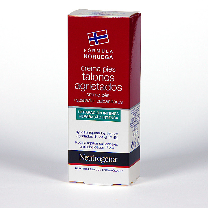 Neutrogena Crema de pies para talones agrietados 40 ml