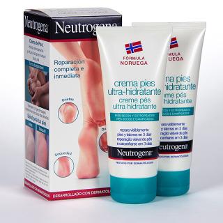Neutrogena Crema Pies Ultra-hidratante Duplo 100 ml + 100 ml