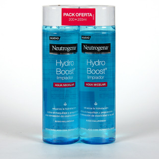 Neutrogena Hydro Boost Agua Micelar 200 ml + 200 ml Pack 2x1