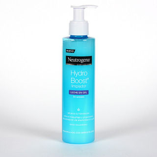 Neutrogena Hydro Boost Limpiador Leche en Gel 200 ml