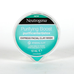 Neutrogena Purifying Boost Mascarilla Express Purificante 10 ml
