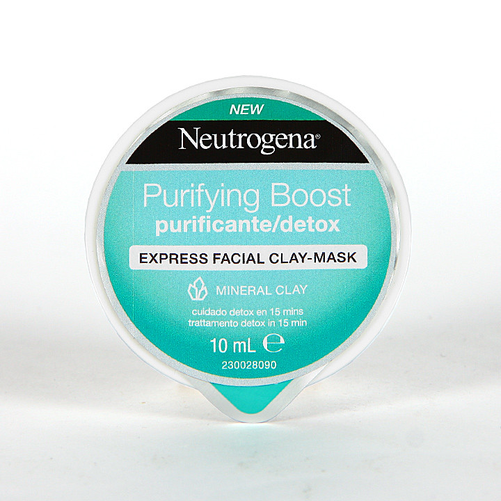 Neutrogena Purifying Boost Mascarilla Express Purificante 10 ml