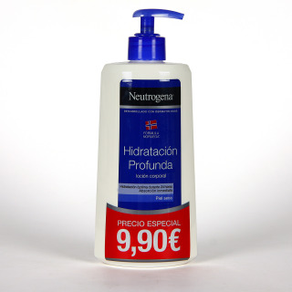 Neutrogena Loción Corporal hidratación profunda piel seca 400 ml