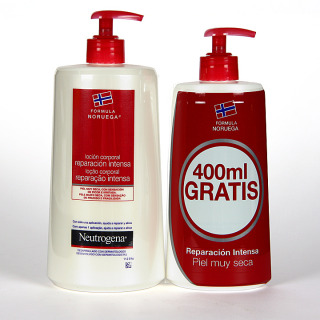 Neutrogena Loción Corporal Reparación Intensa 750 + 400 ml  Gratis
